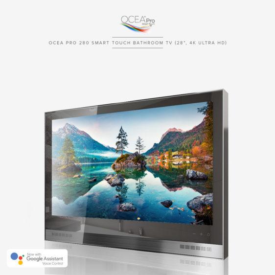 Ocea Pro 280 Smart Touch Bathroom Tv 28 4k Ultra Hd